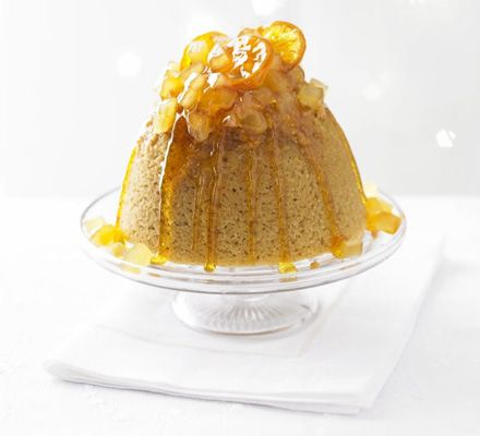 We know how you love hot treacle sponge and sticky ginger cake, so this gorgeous pud is sure to become a favourite