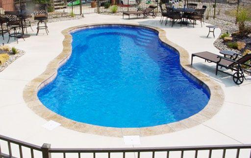 106 best backyard dipping images on pinterest houses - Riviera fiberglass pools ...