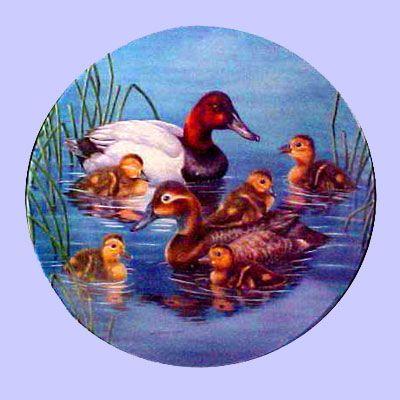 Nature's Nursery - Ducks: Piggy Back Ride - Knowles - Artist: Joe Thornbrugh