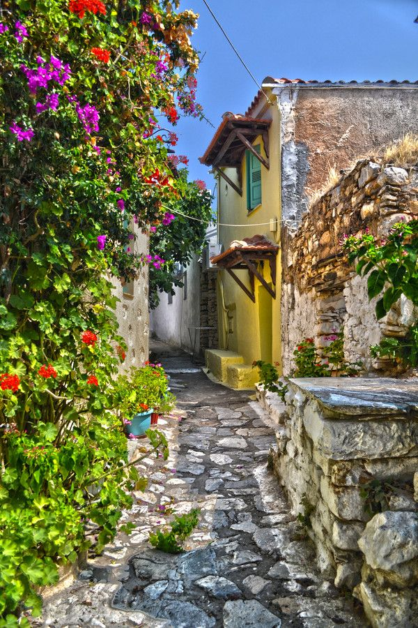Patitiri Village, Alonnisos, Greece