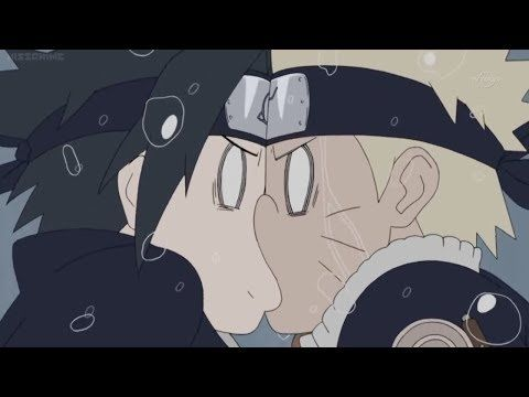 Naruto and Sasuke Kiss Again, Naruto and Sasuke Get Stuck Together and Have to Save Sakura - YouTube