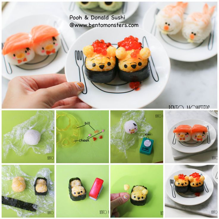 tsumtsum sushi How to