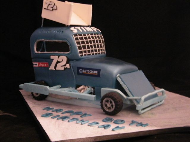 Stock car for 50th birthday