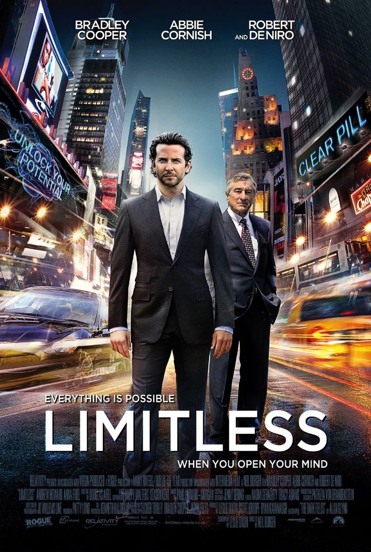 Limitless. Quite fun but pretty forgettable. Also, ironically, quite headache-inducing.