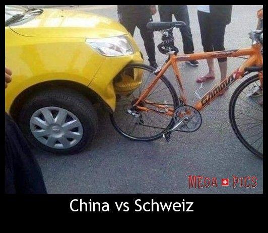 China vs Schweiz - www.MegaPics.ch. Lustige Bilder, witzige Pics, fun Clips, fail Videos.