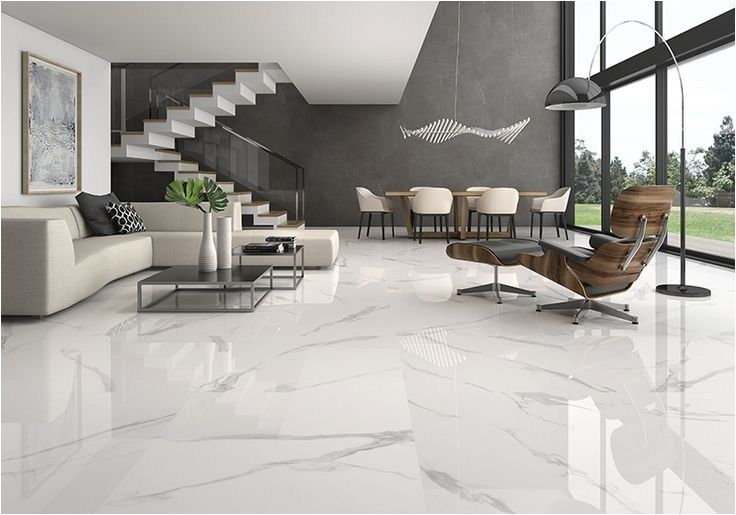 white marble floor living room 33 - DecoRecord | Living room tiles ...