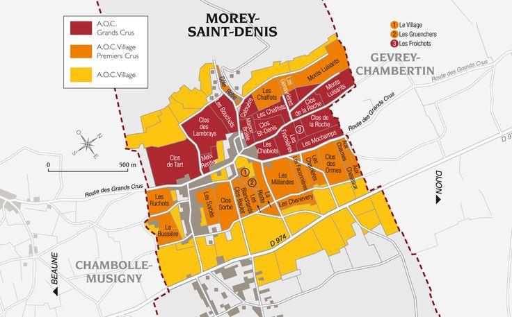 Morey Saint Denis Frankrijk