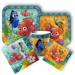 Finding Nemo Standard Party Packs | Price: $20.99 | http://www.discountpartysupplies.com/girl-party-supplies/finding-nemo-party-supplies/findingnemo-standard-party-pack.html