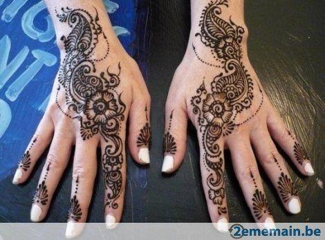 tatouage au henne 100 naturel dcor de bougies - Bougie Henn Mariage
