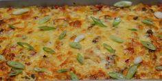 Utrolig nem aftensmad med hakket oksekød, dejlige grøntsager og smeltet ost på toppen. Det hele tilberedes i ét fad i ovnen.