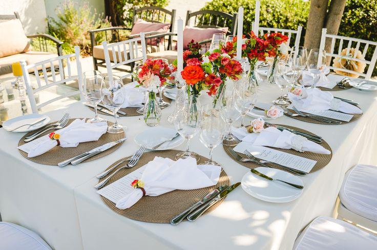 Mesa ao ar livre de Intimate Wedding