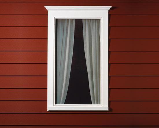 Window trim exterior porfolio treehouses pinterest - Vinyl trim around exterior windows ...
