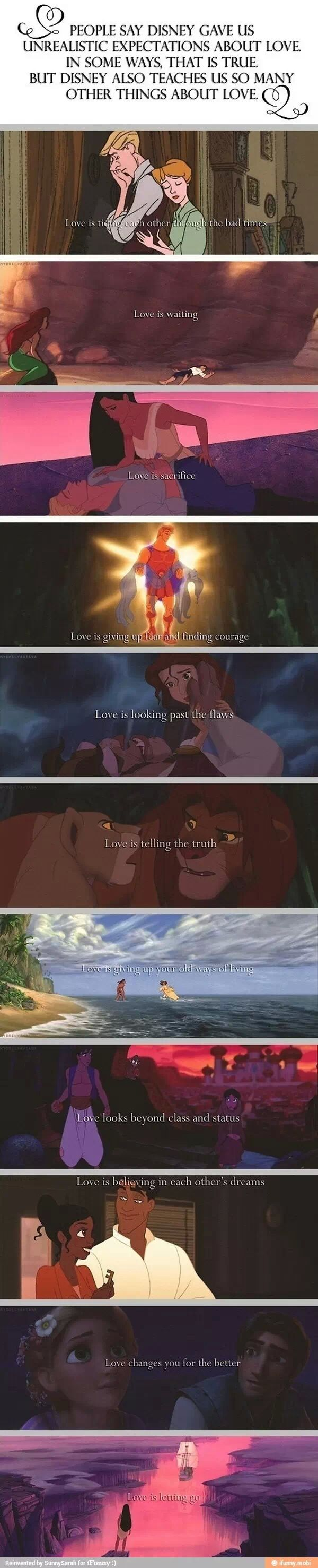 Why I love Disney❤ <3 ugh... I'm getting Pocahontas feels now... WHY?! :'(