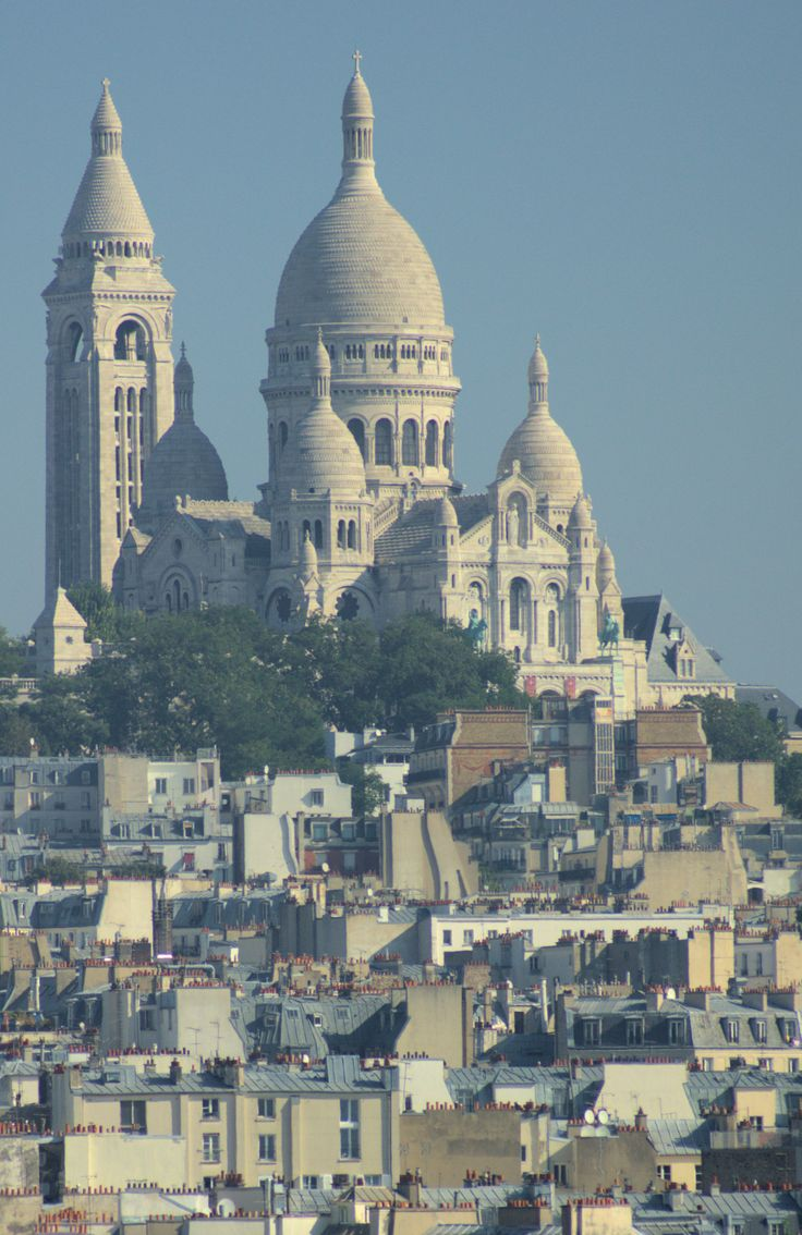 Blog - Paris Shopping and Point Rouge - Galeries Lafayette rooftop view of Sacre Coeur.   ... http://scotfin.com/scot-fin-novel/ says, After the Eiffel Tower, look the other way for Sacre Coeur.