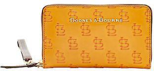 Dooney & Bourke MLB Cardinals Large Zip Around Phone Wristlet Wallet
