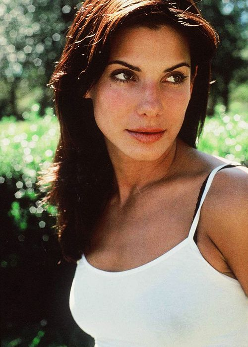 young sandra bullock. My first celebrity crush!