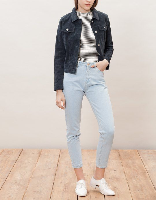 ff1b4aaa880 At Stradivarius you'll find 1 Momfit jeans for woman for just 1890 ...