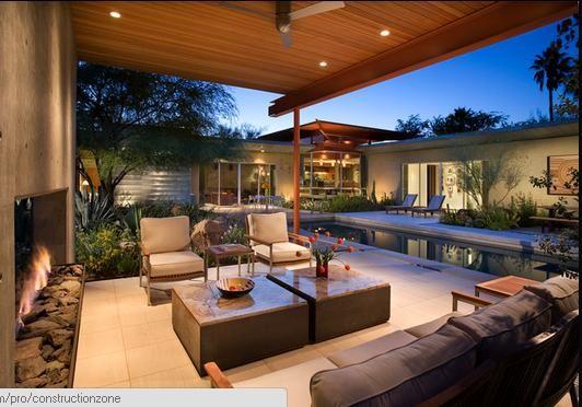 Madera ventilador luces ideas para terrazas patios - Luces de terraza ...