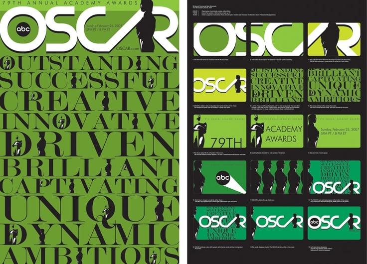Oscar Poster Design Concept Art