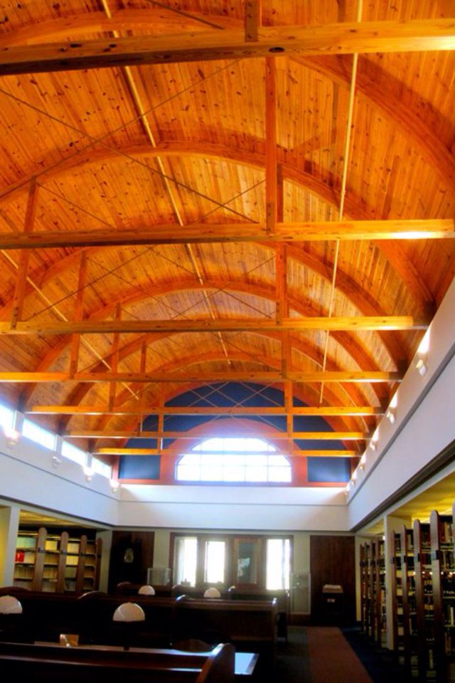 Inside Shipman Library At Adrian College. Adrain, Michigan Part 37