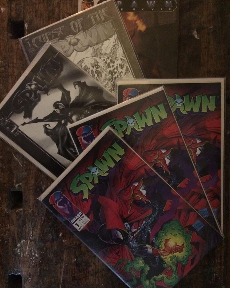 The news of a new Spawn movie is out and I couldn't be more excited. Spawn is the first comicbook series I read and collected. In later years I bought these (well except for the comic adaptation of the movie). Just wanted to share them with you. Spawn #1 a black and white reprint of Spawn #1 and #1 of Curse of the Spawn with a Black and White variant cover.  Any Spawn fans here? #spawn #toddmcfarlane #spawncomics #comic #comics #comicbook #comicbooks #comicbookart #comicart #blackandwhite…