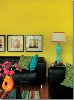 Home decor in fluorescent colors give a bright look to the interiors of a  room. Asian PaintsVictorian ...