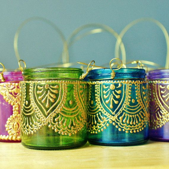 set-of-four-moroccan-lantern-votive