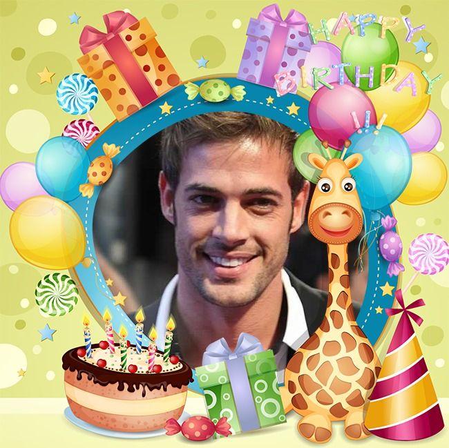 Fotomontaje de Cumpleaños con globos y muchos colores | Hacer ...
