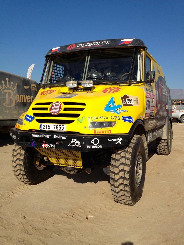 Tatra Truck Dakar 2012
