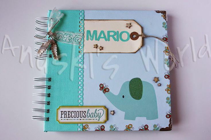 Álbum de embarazo y bebé para Mario - Anuski´s World