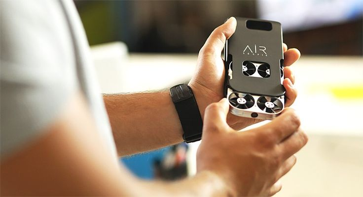 world's smallest portable flying camera is controlled by your smartphone: airselfie