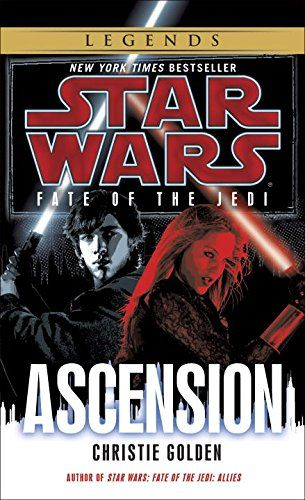 Star Wars: Fate of the Jedi - Ascension (Star Wars: Fate of the Jedi - Legends) by Christie Golden http://www.amazon.com/dp/034550917X/ref=cm_sw_r_pi_dp_VsK4wb1F8VNDK