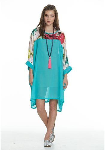 Augustine Flamingo Dress