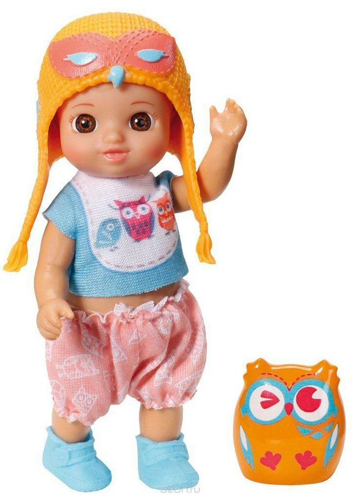 Купить Chou Chou Мини-кукла Mini Birdies цвет оранжевый - детские товары Chou Chou в интернет-магазине OZON.ru, цена chou chou мини-кукла mini birdies цвет оранжевый
