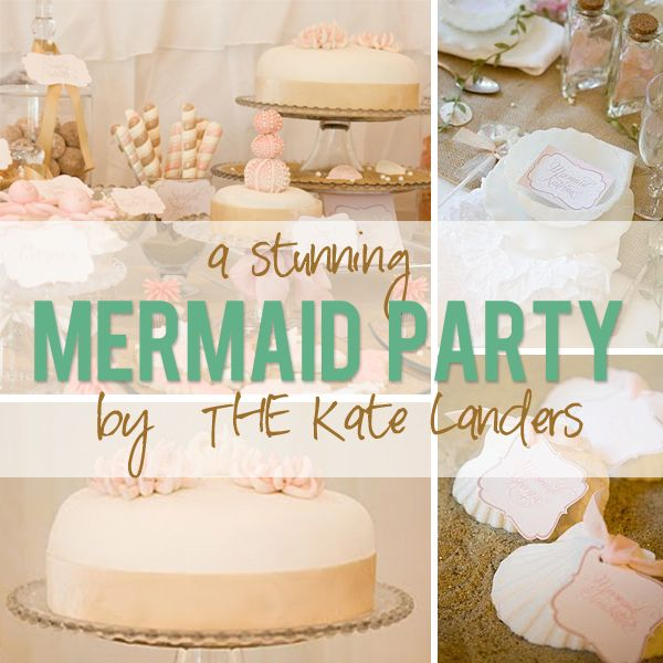 Mermaid Party by THE Kate Landers! | How Does She...
