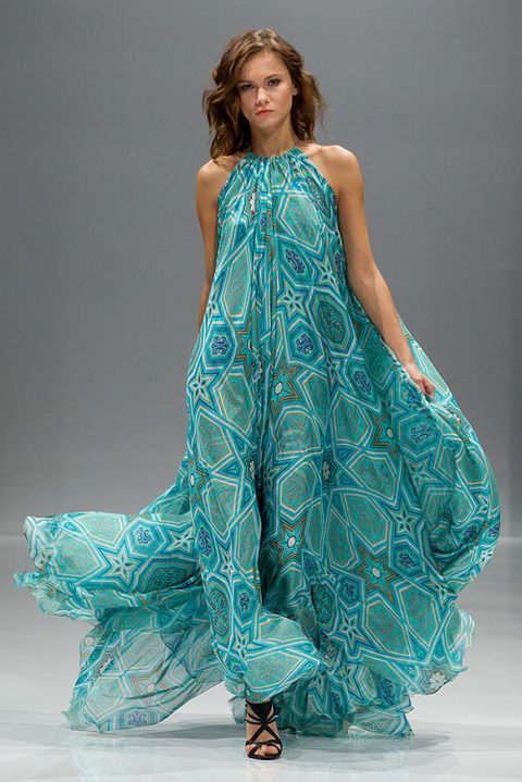 Alexander Terekhov. Hello 70s tent dresses can be enchanting once again. with <3 from JDzigner www.jdzigner.com