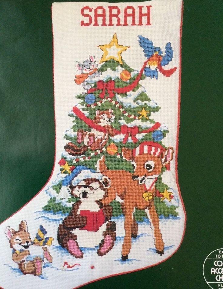 Can Christmas cross stitch stocking kits not