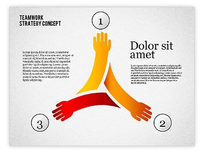Teamwork Strategy Concept