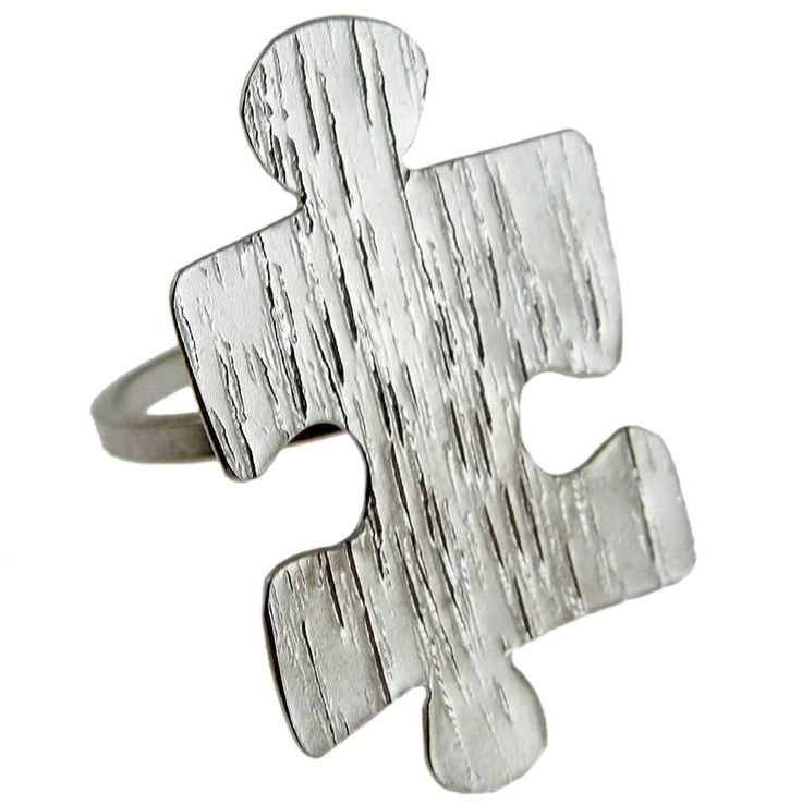 Emmanuela.gr - Handmade Jewelry - Rings :: Sterling Silver Puzzle Ring
