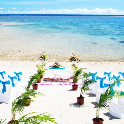 50% off wedding packages at the Outrigger Fiji Beach Resort