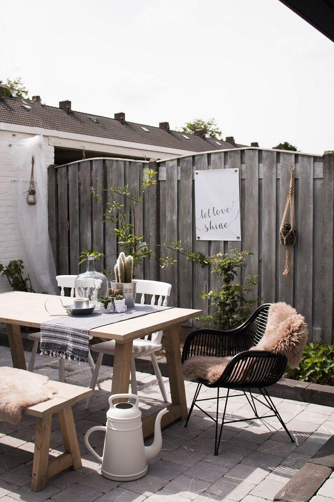 1000 idee n over tuin decoraties op pinterest tuinkunst bloem tuinieren en tuinieren - Terras tuin decoratie ...