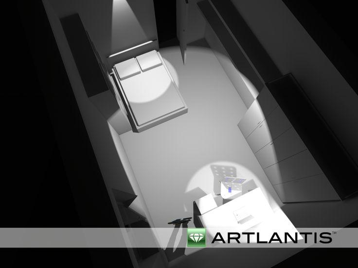 Artlantis vista notte 5