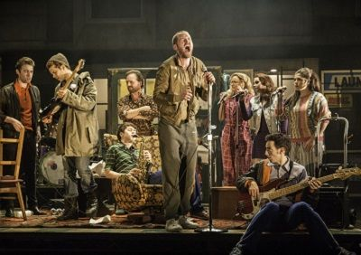 Killian Donnelly in The Commitments musical at the Palace Theatre
