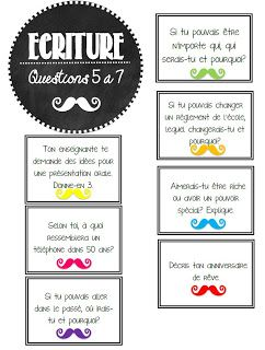 La classe de Karine: Questions de Moustache