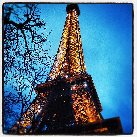 My photo of the Eiffel Tower in Paris — put through Instagram.    See the rest of my photography portfolio on RedBubble: http://www.redbubble.com/people/felinemind