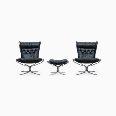 Falcon Lounge Chair by Sigurd Ressell for Vatne Møbler