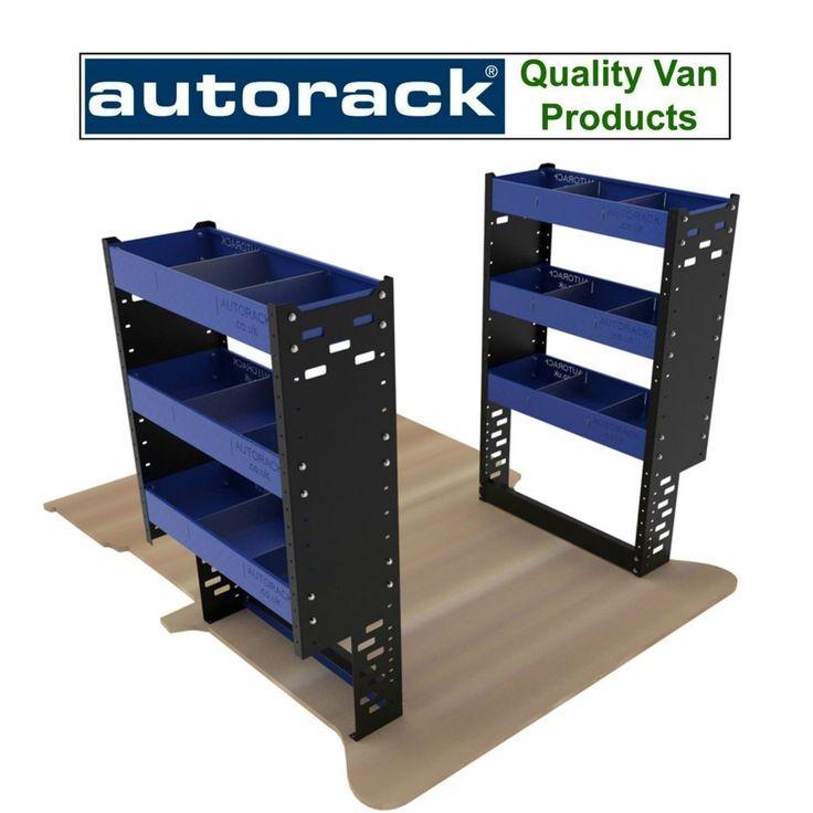 Van Racking System - Professional Steel Van Shelving Units For Nissan NV200 Van #AUTORACK