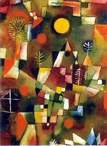 """A line is a dot that went for a walk."" –Paul Klee"