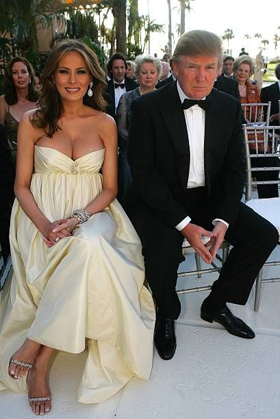 Melania Trump And Donald Sr Attend The Wedding Ceremony Of Jr Vanessa