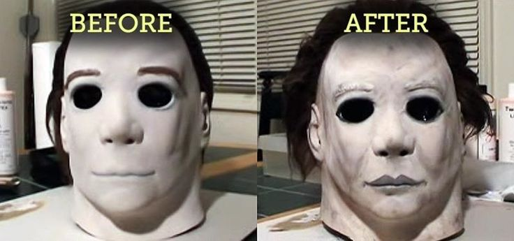 It's easy to turn a cheap Michael Myers mask into a really authentic-looking one for Halloween. Just takes a little DIY.